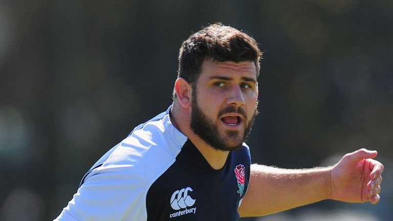Rob Webber: In the England training squad