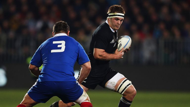 Sam Cane: Replaces injured New Zealand captain Richie McCaw