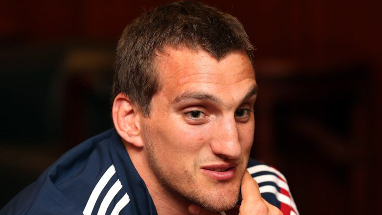 Sam Warburton will make his Lions debut against Queensland Reds on Saturday