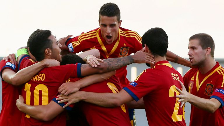 Spain U21s: Not yet conceded a goal