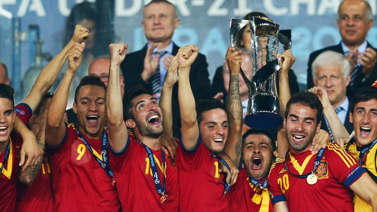 Champions: copy Spanish football and you could be successful, says Steve McClaren