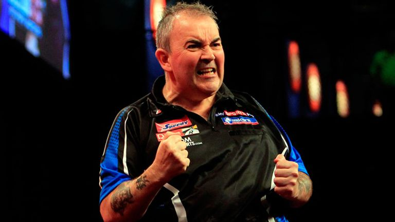 Phil Taylor: Satisfied with victory