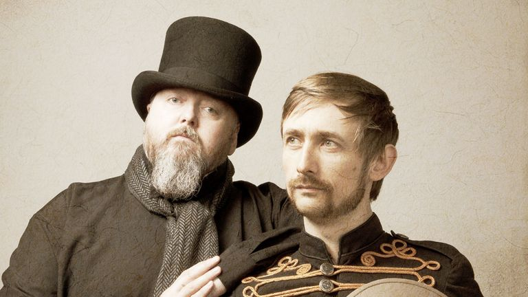 Thomas Walsh (Duckworth) and Neil Hannon (Lewis)