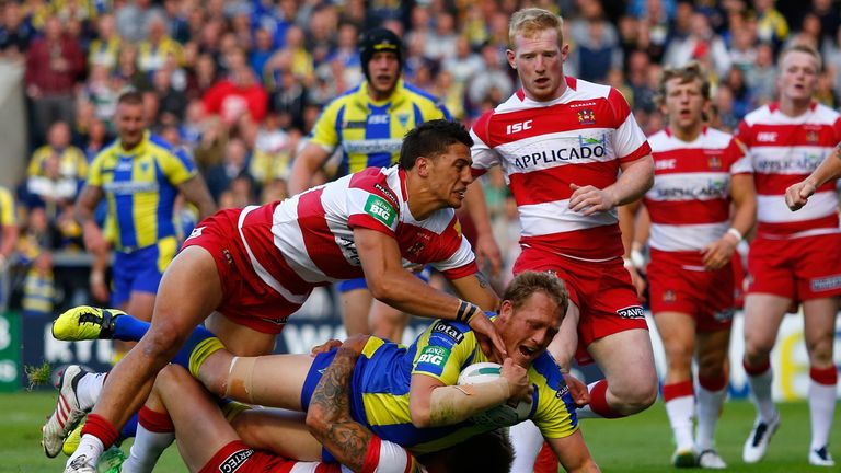 Ben Westwood: Crossed in the first half for Warrington