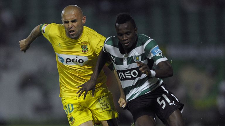 Bruma: Sporting Lisbon youngster happy in Portugal