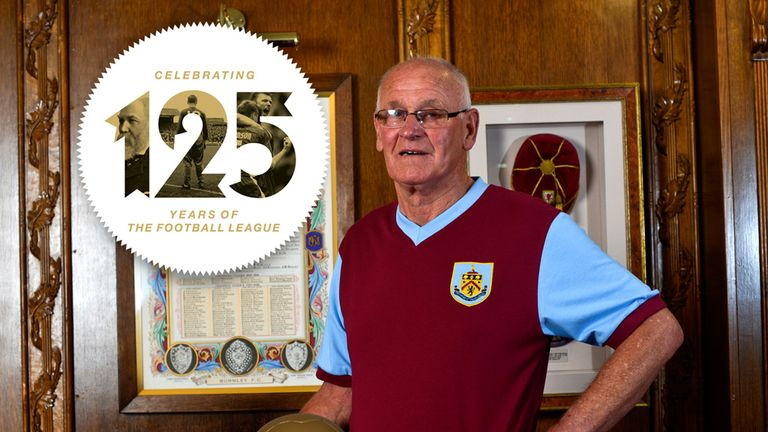 Burnley legend: Jimmy Robson will be part of the anniversary celebrations.