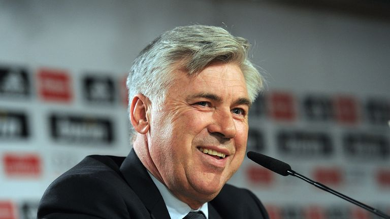 The ever affable Carlo Ancelotti seems an ideal fit to work with the Bernabeu hierachy