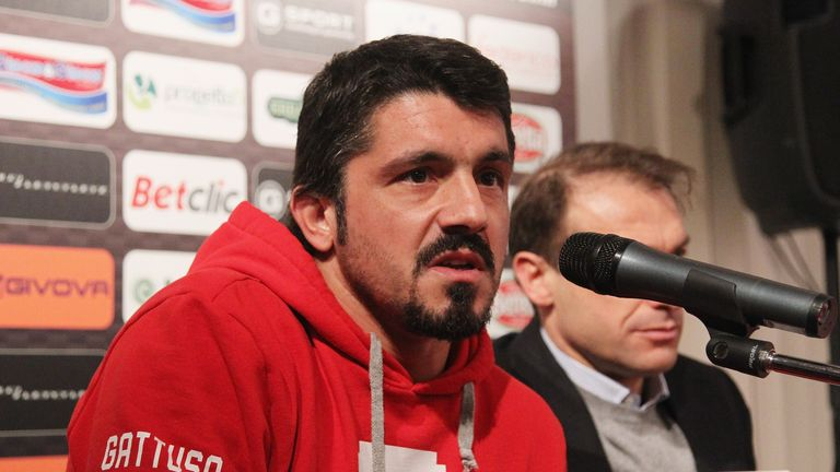 Gennaro Gattuso: Will be appointed by Palermo