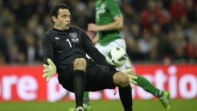 David Forde: Looking to be fit for Friday