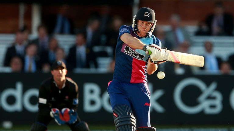 Dawid Malan: Was dismissed just one run short of a century