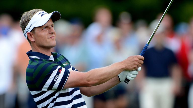 Luke Donald: Thrilled with start but ready for tough finish