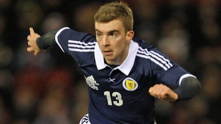 James Morrison: The midfielder has been named Scotland captain for Croatia tie