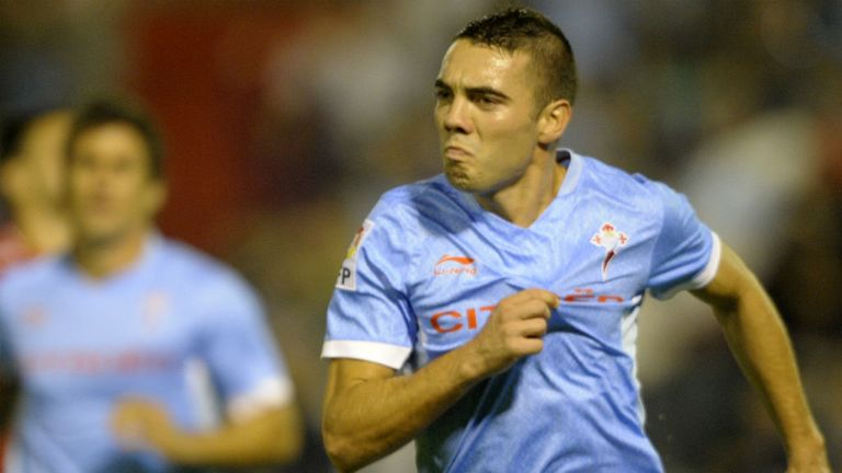 Iago Aspas: The 25-year-old has agreed a move to Anfield