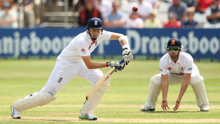 Joe Root was given his chance alongside England captain Alastair Cook at the top of the order