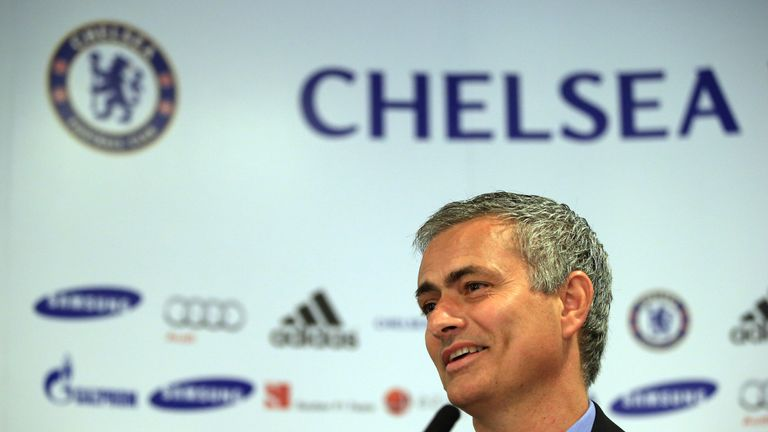 Jose Mourinho: Bringing Premier League title back to Chelsea could take time