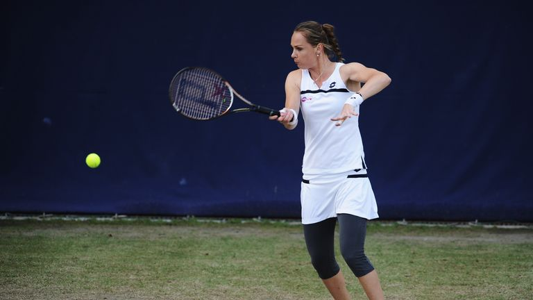 Magdalena Rybarikova: Slovak booked quarter-final date with Madison Keys