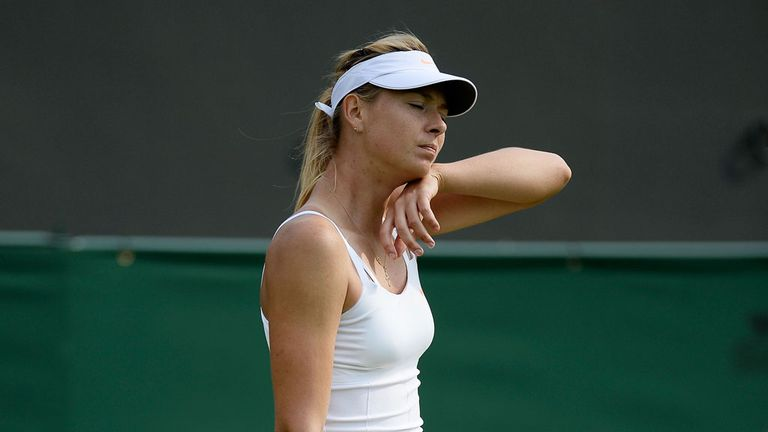 Maria Sharapova: Has been sidelined by an injured hip