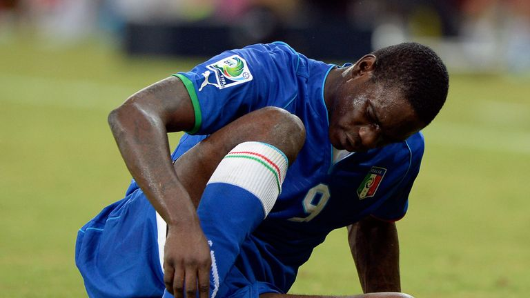 Mario Balotelli: Ruled out of the semi-final and possible final