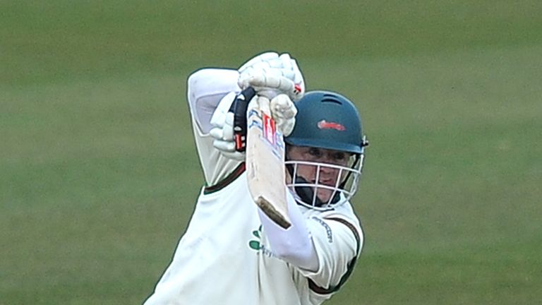 Niall O'Brien: Helped to arrest Leicestershire's slide