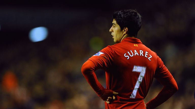 Luis Suarez: Set to turn his back on Liverpool this summer after being linked with Real Madrid?