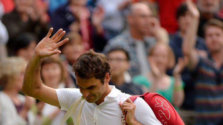Roger Federer: Determined to come back stronger after his early Wimbledon exit