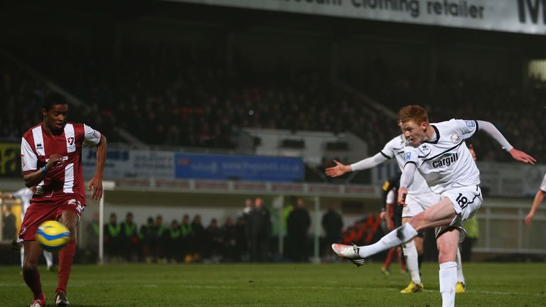Sam Clucas: Winger has joined Mansfield from Hereford