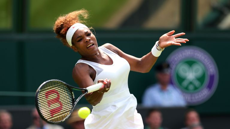 Serena Williams: Is eyeing up a 17th Grand Slam title and her sixth at the All England Club