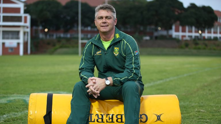 Springbok coach Heyneke Meyer: selected nine uncapped players in his 34-man squad