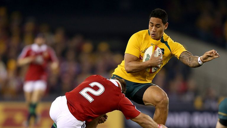 Joe Tomane: Ruled out the Bledisloe Cup clash with New Zealand