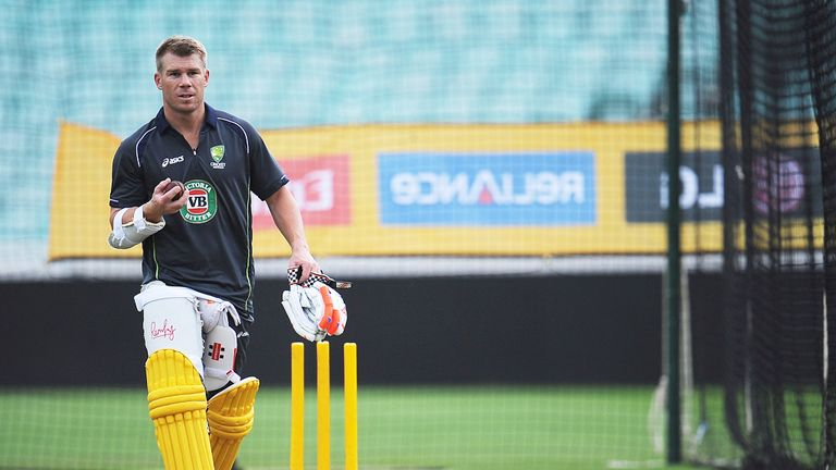 David Warner: Backed to return from ban for the first Ashes Test
