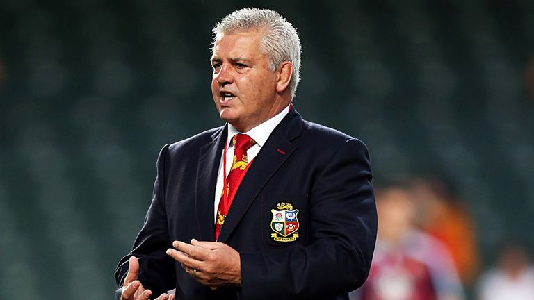 Warren Gatland: Delighted with opening display of the tour
