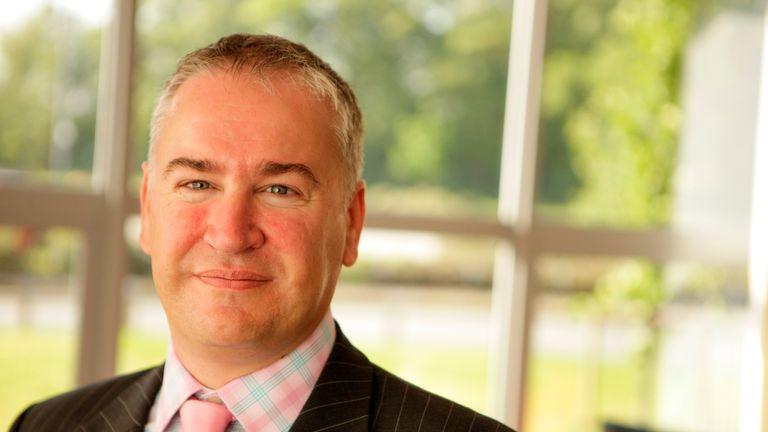 Matt Beech: local businessman and a keen Widnes Vikings fan