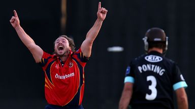 Graham Napier: Has signed new two-year deal with Essex