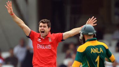 James Anderson: England seamer struck twice with new ball