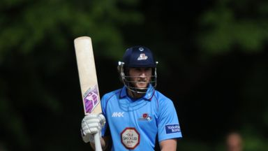 Alex Wakely: Has signed a new deal with Northants