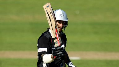 Peter Trego: Somerset opener led side to target of 262