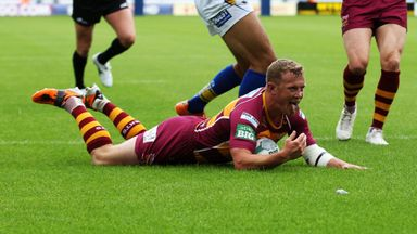 Luke Robinson has played over 200 games for the Giants