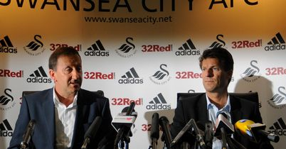 Huw Jenkins & Michael Laudrup: Have hopefully put differences aside