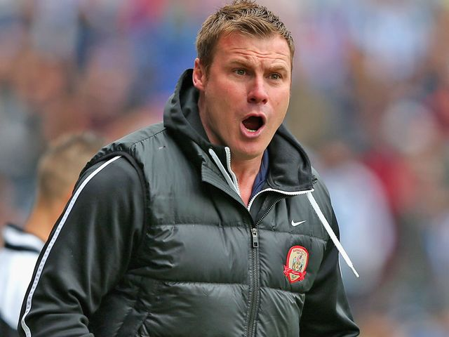 David Flitcroft saw his side claim three Yorkshire deby points
