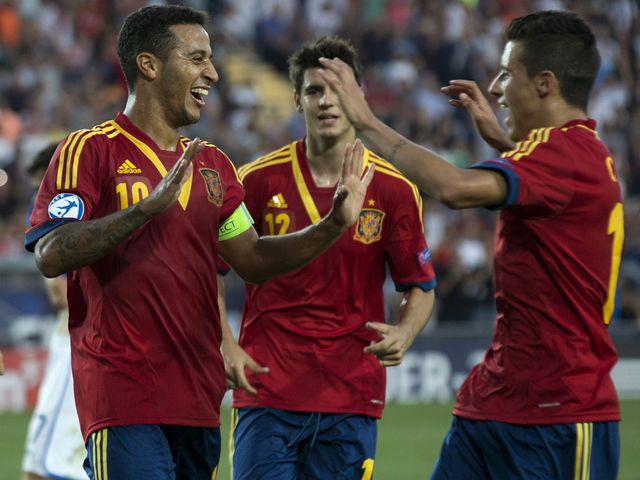 Thiago Alcantara: Hat-trick in the final