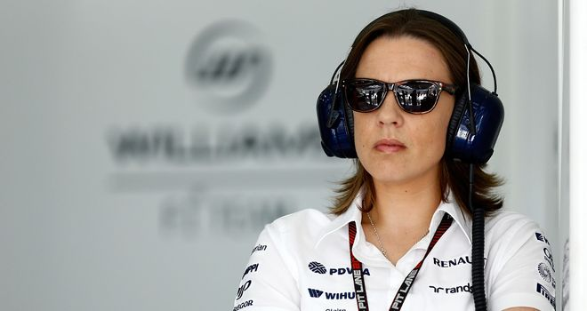 Claire Williams: Determined to get the team moving forwards again
