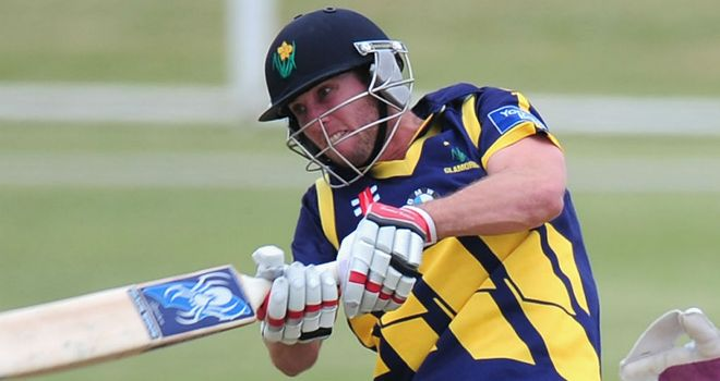 Chris Cooke: Top-scored for Glamorgan with 85