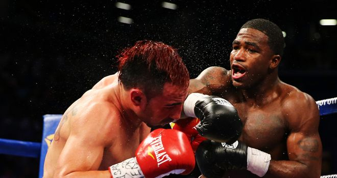 Adrien Broner: Only gets a seven for beating Malignaggi on points