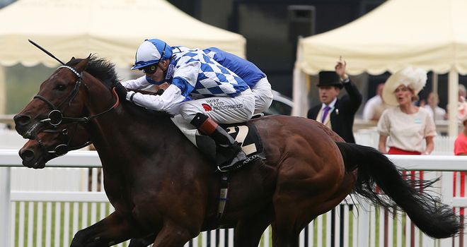 Al Kazeem: In the mix for the Irish Champion