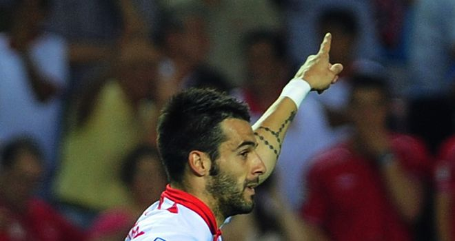 Alvaro Negredo produced a superb indivdual display