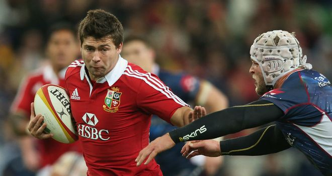 Ben Youngs: Will replace Mike Phillips at scrum-half for the Lions' second Test match with Australia