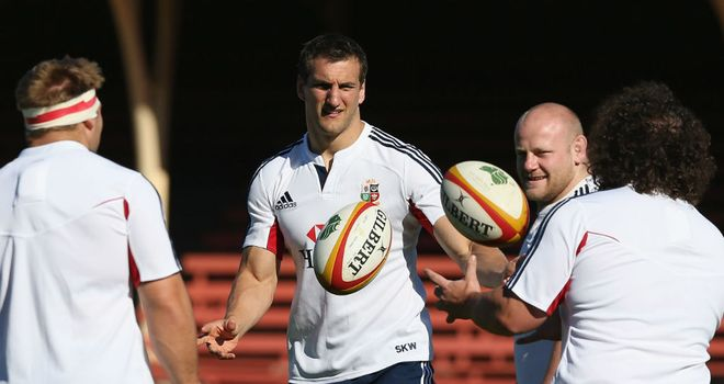 Sam Warburton: Raring to go against the Waratahs