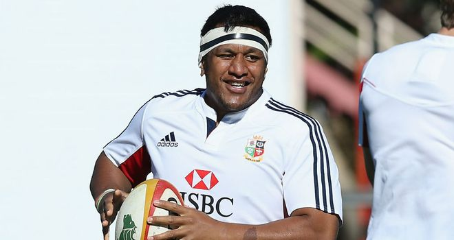 Mako Vunipola: few would have predicted he would make the Lions squad a few months ago