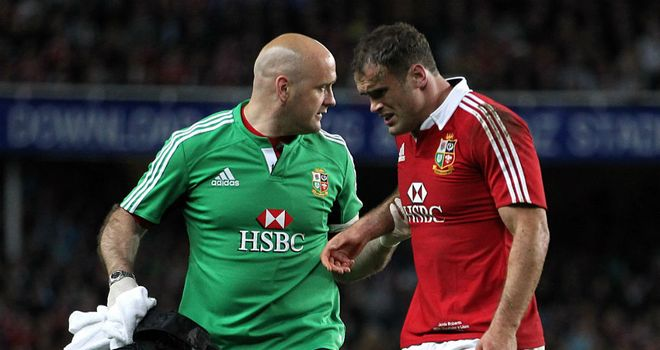 Jamie Roberts: Injured hamstring against the Waratahs