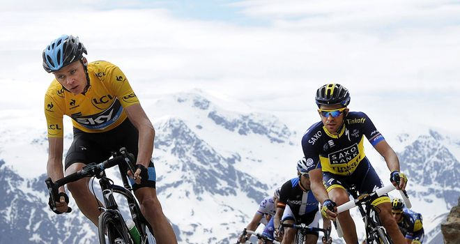 Chris Froome and Alberto Contador are the favourites for victory at the 100th Tour de France